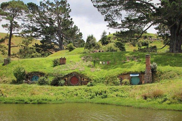 Hobbiton i Nya Zeeland