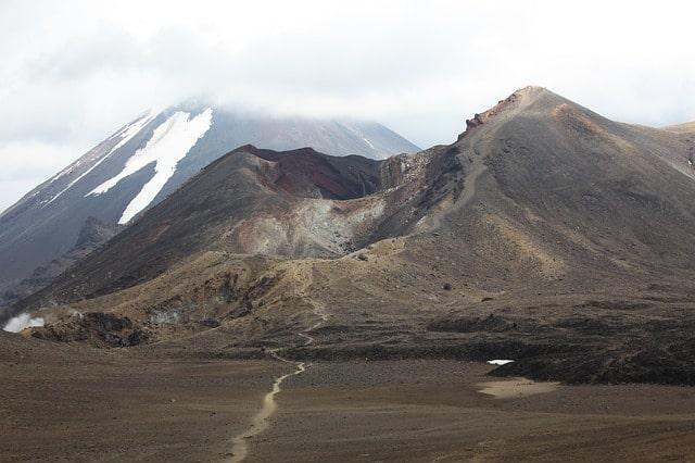 Mordors vulkan (i Tongariro)