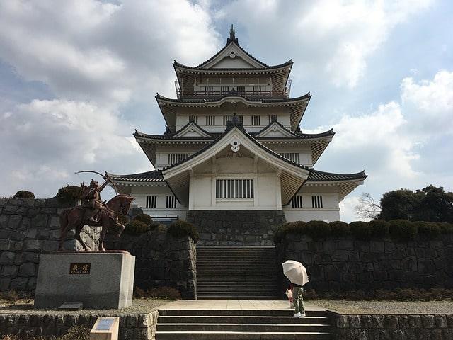 Ōtaki Castle i Chiba, Japan.