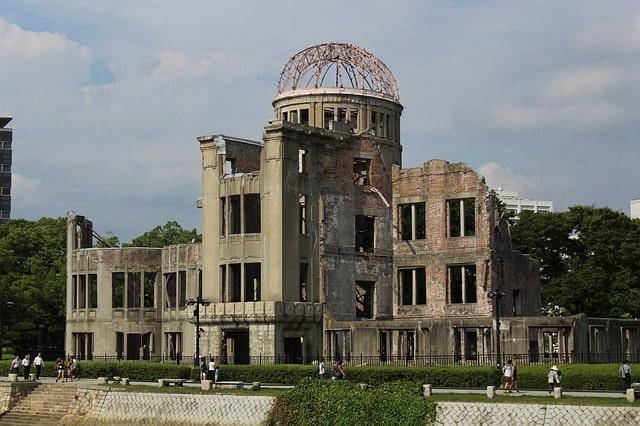 Genbaku Dome i Hiroshima, Japan.
