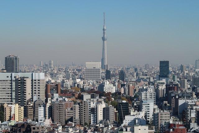 Tokyo Skytree i Tokyo, Japan.