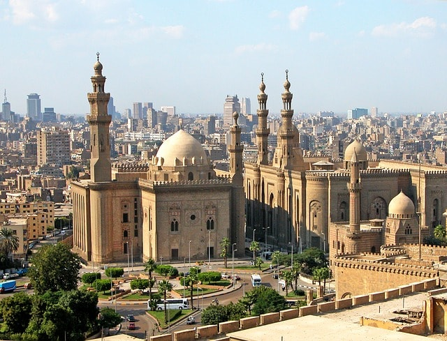 Egyptens huvudstad Kairo