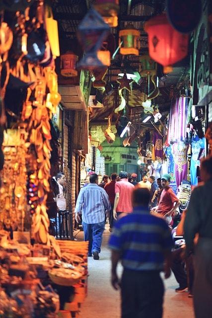 Basar i Kairo
