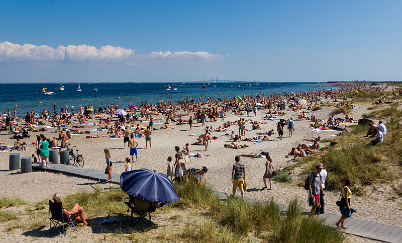 Amager Strandpark i Köpenhamn.