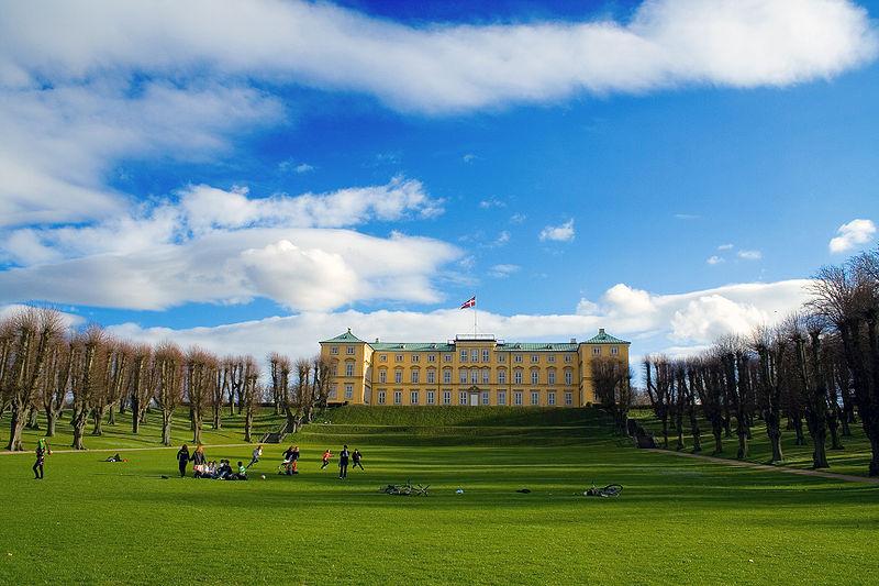 Frederiksbergs Have i Köpenhamn.
