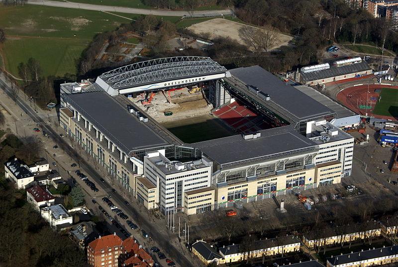 Parken i Köpenhamn när den höll på att byggas.