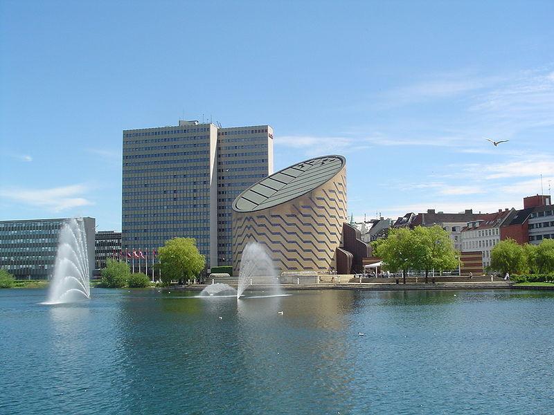 Tycho Brahe Planetarium i Köpenhamn.