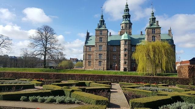 Vackra Rosenborgs Slott i Köpenhamn