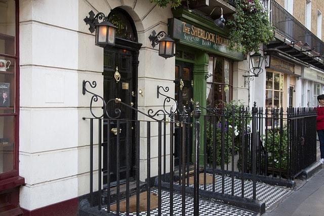 Sherlock Holmes Museum i London