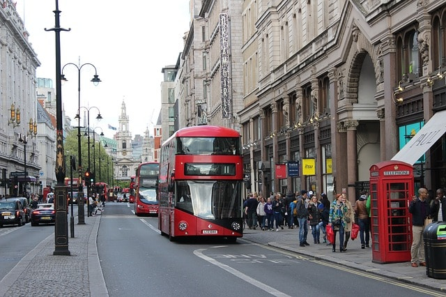 Turistbusser i London