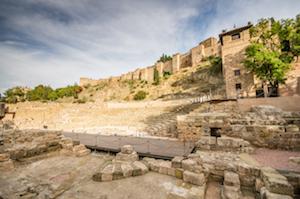 Romerska teatern i Malaga