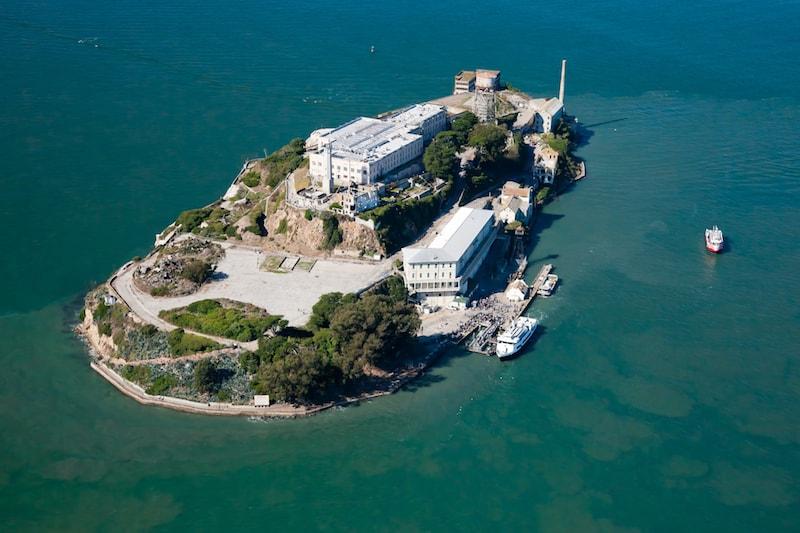 Fängelseön Alcatraz i San Francisco