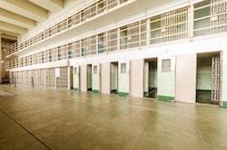 Fängelseceller i Alcatraz