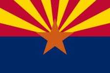 Arizonas flagga
