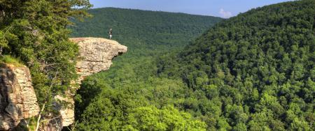 Hawksbill Crag Whitaker Point Panorama