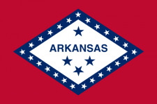 Arkansas flagga