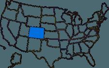 Colorados placering i USA